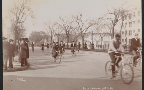 Byron Company, Boulevard near 60th St. NY, 1898. From the Collection of the Museum of the City of New York.