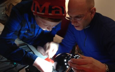 Technology repair activities at the New York Fixers Collective,